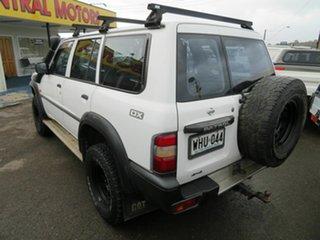 1999 Nissan Patrol GU DX (4x4) White 5 Speed Manual 4x4 Wagon
