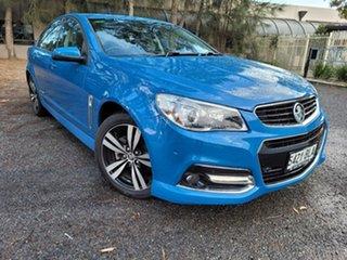 2015 Holden Commodore VF MY15 SV6 Storm Blue 6 Speed Sports Automatic Sedan.