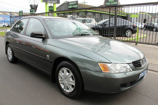 Used Holden Commodore VY Executive West Footscray, 2003 Holden Commodore VY Executive Grey 4 Speed Automatic Sedan