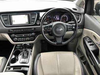 2016 Kia Carnival YP MY16 SLi Black 6 Speed Sports Automatic Wagon