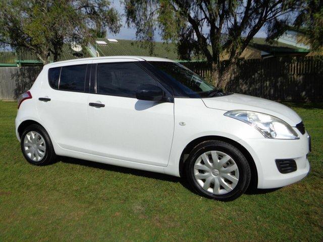 Used Suzuki Swift FZ GA Kippa-Ring, 2012 Suzuki Swift FZ GA White 5 Speed Manual Hatchback