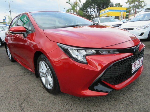 Used Toyota Corolla Mzea12R Ascent Sport Mount Gravatt, 2018 Toyota Corolla Mzea12R Ascent Sport Red 10 Speed Constant Variable Hatchback