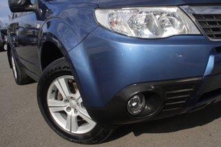 2010 Subaru Forester S3 MY10 X AWD Columbia Newport Blue 4 Speed Sports Automatic Wagon.