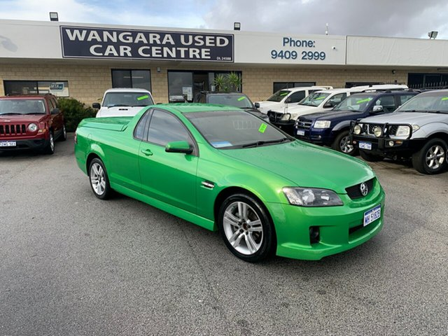 Used Holden Commodore VE MY09.5 SV6 Wangara, 2009 Holden Commodore VE MY09.5 SV6 Green 5 Speed Automatic Utility