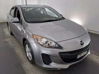 2013 Mazda 3 BL10F2 MY13 Neo Silver 6 Speed Manual Sedan.