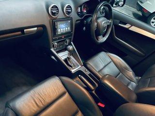 2010 Audi A3 8P MY11 TFSI Sportback S Tronic Ambition Black 7 Speed Sports Automatic Dual Clutch