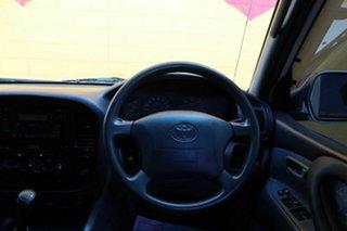 1999 Toyota Landcruiser GXL White 5 Speed Automatic Wagon