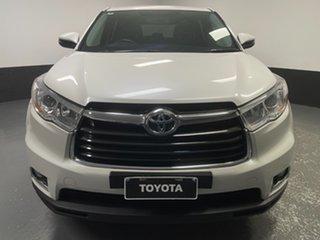 2015 Toyota Kluger GSU55R GX AWD White 6 Speed Sports Automatic Wagon.