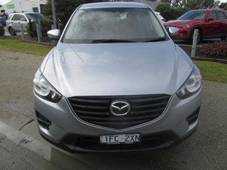 2016 Mazda CX-5 MY15 Maxx (4x2) Silver 6 Speed Automatic Wagon.