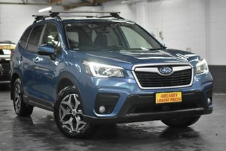 2018 Subaru Forester S5 MY19 2.5i-L CVT AWD Blue 7 Speed Constant Variable Wagon.