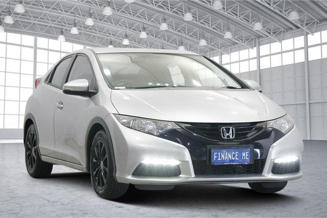 Used Honda Civic 9th Gen MY14 VTi-L Victoria Park, 2014 Honda Civic 9th Gen MY14 VTi-L White 5 Speed Sports Automatic Hatchback