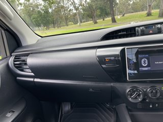 2019 Toyota Hilux TGN121R Workmate 4x2 Silver Sky 6 Speed Sports Automatic Cab Chassis