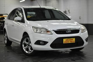 2010 Ford Focus LV LX White 4 Speed Sports Automatic Hatchback.