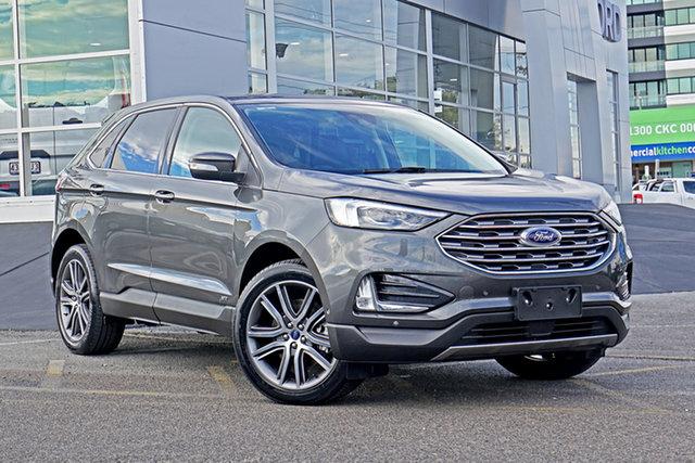Used Ford Endura CA 2019MY Titanium Springwood, 2018 Ford Endura CA 2019MY Titanium Grey 8 Speed Sports Automatic Wagon