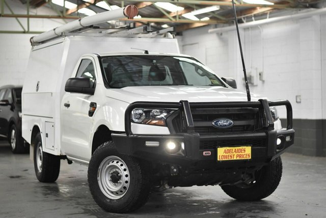 Used Ford Ranger PX MkII XL Morphett Vale, 2016 Ford Ranger PX MkII XL White 6 Speed Sports Automatic Cab Chassis