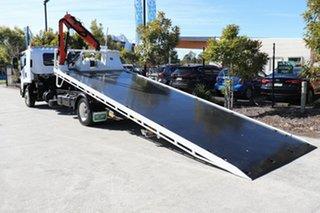 2013 Isuzu FSR 850 White Automatic Tilt Tray