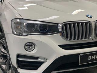 2017 BMW X4 F26 xDrive20d Coupe Steptronic Alpine White 8 Speed Automatic Wagon.