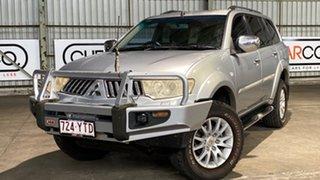 2010 Mitsubishi Challenger PB (KH) MY11 XLS Silver 5 Speed Sports Automatic Wagon.