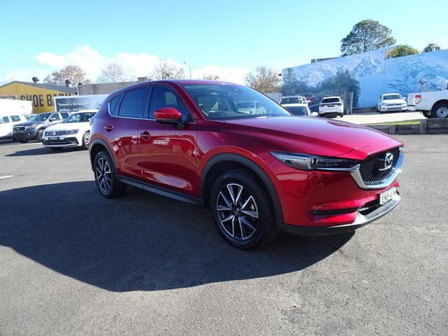 Used Mazda CX-5 KF4WLA GT SKYACTIV-Drive i-ACTIV AWD Nowra, 2018 Mazda CX-5 KF4WLA GT SKYACTIV-Drive i-ACTIV AWD Soul Red 6 Speed Automatic Wagon