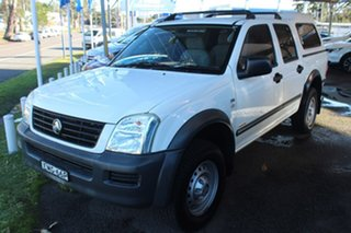 2007 Holden Rodeo RA MY07 LX 4x2 White 4 Speed Automatic Cab Chassis.