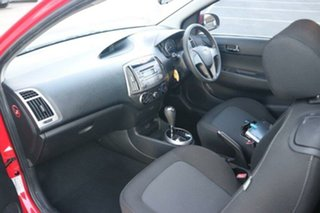 2013 Hyundai i20 PB MY13 Active Red 4 Speed Automatic Hatchback