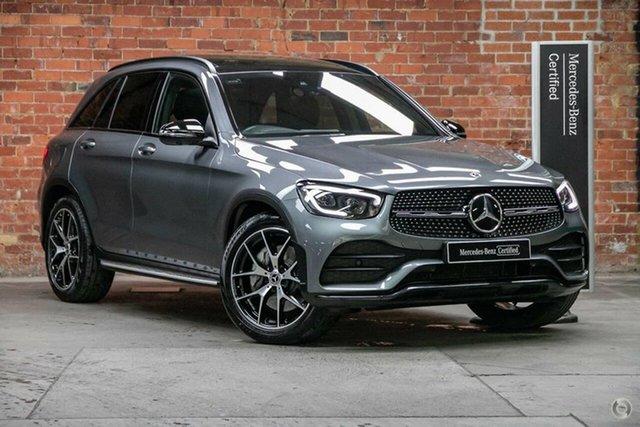 Certified Pre-Owned Mercedes-Benz GLC-Class X253 800+050MY GLC300 9G-Tronic 4MATIC Mulgrave, 2020 Mercedes-Benz GLC-Class X253 800+050MY GLC300 9G-Tronic 4MATIC Selenite Grey 9 Speed