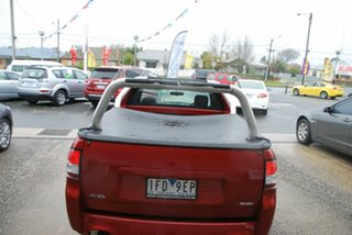 2011 Holden Commodore VE II SV6 Thunder Red 6 Speed Manual Utility