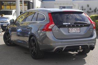 2016 Volvo V60 F Series MY16 T6 Geartronic AWD R-Design Osmium Grey/black 8 Speed Sports Automatic.