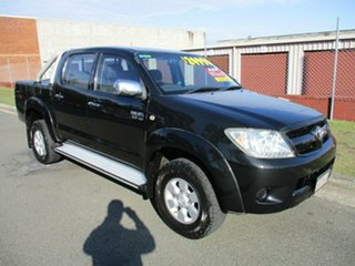 2006 Toyota Hilux GGN25R MY05 SR5 Black 5 Speed Automatic Utility.
