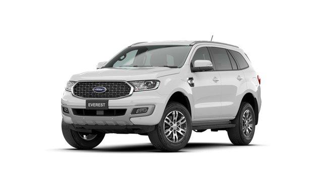 New Ford Everest UA II 2021.75MY Trend Midland, 2021 Ford Everest UA II 2021.75MY Trend Arctic White 6 Speed Sports Automatic SUV