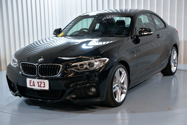 Used BMW 2 Series F22 230i M Sport Hendra, 2017 BMW 2 Series F22 230i M Sport Black 8 Speed Sports Automatic Coupe
