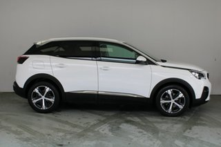 2017 Peugeot 3008 P84 MY18 Allure SUV Ewp - Banquise White Paint 6 Speed Sports Automatic Hatchback