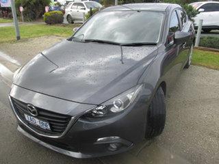 2014 Mazda 3 BM5438 SP25 SKYACTIV-Drive Grey 6 Speed Sports Automatic Hatchback.