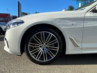 2020 BMW 5 Series G30 520i Steptronic M Sport Alpine White 8 Speed Sports Automatic Sedan.
