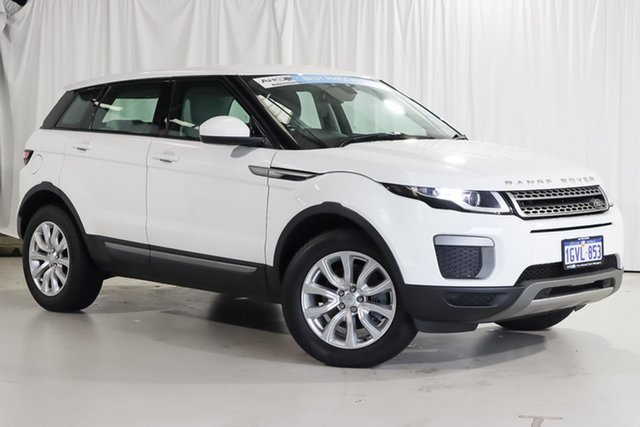 Used Land Rover Range Rover Evoque L538 MY16 TD4 150 SE Wangara, 2015 Land Rover Range Rover Evoque L538 MY16 TD4 150 SE White 9 Speed Sports Automatic Wagon