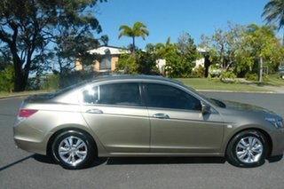 2010 Honda Accord 8th Gen MY10 VTi Gold 5 Speed Sports Automatic Sedan.