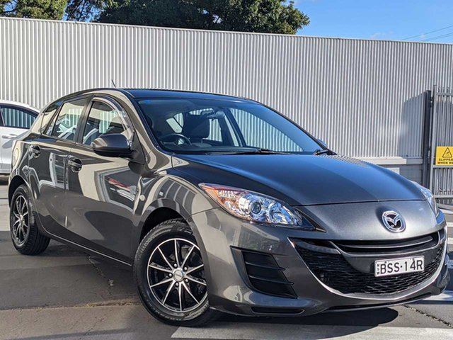 Used Mazda 3 BL10F1 MY10 Neo Activematic Wollongong, 2010 Mazda 3 BL10F1 MY10 Neo Activematic Grey 5 Speed Sports Automatic Hatchback