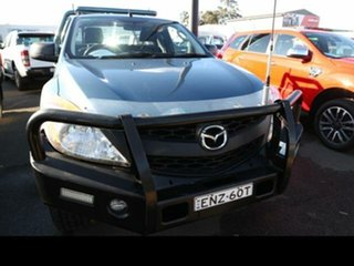 2012 Mazda BT-50 XT (4x4) Green 6 Speed Manual Freestyle Cab Chassis