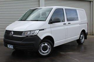 2021 Volkswagen Transporter T6.1 MY21 TDI450 SWB DSG White 7 Speed Sports Automatic Dual Clutch Van.