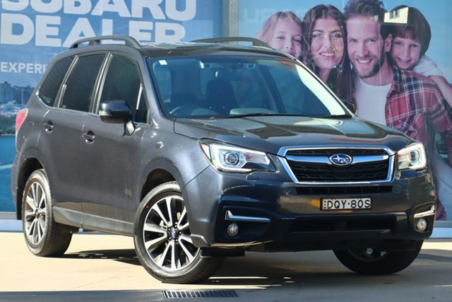 Used Subaru Forester MY18 2.5I-S Rosebery, 2017 Subaru Forester MY18 2.5I-S Grey Continuous Variable Wagon
