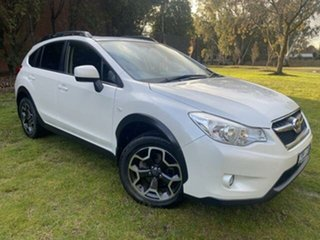 2013 Subaru XV MY13 2.0I-L White Continuous Variable Wagon.