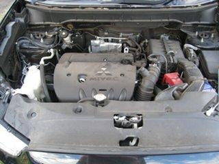 2014 Mitsubishi ASX XB MY14 (2WD) Black Continuous Variable Wagon