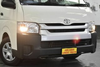 2017 Toyota HiAce KDH221R High Roof Super LWB White 4 Speed Automatic Van