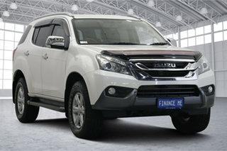 2016 Isuzu MU-X MY15.5 LS-T Rev-Tronic 4x2 White 5 Speed Sports Automatic Wagon.