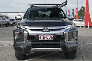 2019 Mitsubishi Triton MR MY20 GLS Double Cab Premium Grey 6 Speed Sports Automatic Utility