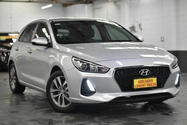Used Hyundai i30 PD MY18 Active Morphett Vale, 2018 Hyundai i30 PD MY18 Active Silver 6 Speed Sports Automatic Hatchback