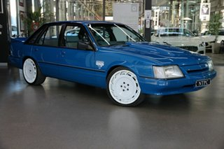 1984 Holden Commodore VK SS Group A Blue 4 Speed Manual Sedan.