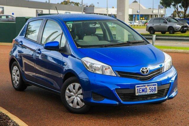 Used Toyota Yaris NCP130R YR Rockingham, 2014 Toyota Yaris NCP130R YR Blue 4 Speed Automatic Hatchback