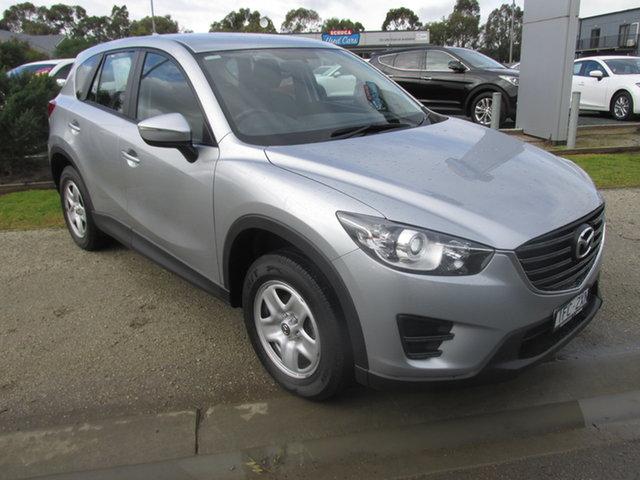 Used Mazda CX-5 MY15 Maxx (4x2) Echuca, 2016 Mazda CX-5 MY15 Maxx (4x2) Silver 6 Speed Automatic Wagon