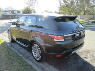 2016 Land Rover Range Rover Sport L494 16MY HSE Blue 8 Speed Sports Automatic Wagon